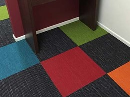 2 new colours join Colour Splash range of carpet tiles