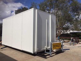 Portable Buildings Brisbane relies on ASKIN panels for their cool room kits
