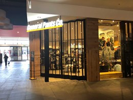 ATDC's folding closures secure main entry at new General Pants Craigieburn store