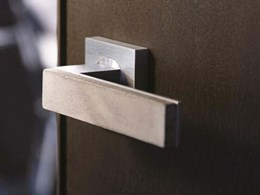 Introducing the new Bullet+Stone Concrete door hardware collection