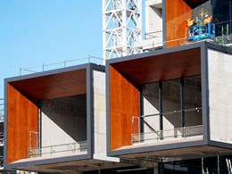 SGI natural timber cladding specified for International Convention Centre Sydney