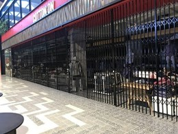Global retailer engages ATDC to supply shopfront door closures