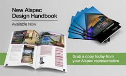 New Alspec Design Handbook explores full window and door framing product range