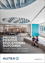 Driving positive educational outcomes through smart specification of interior acoustic solutions