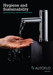Hygiene and sustainability: Specifying sensor taps for a modern world