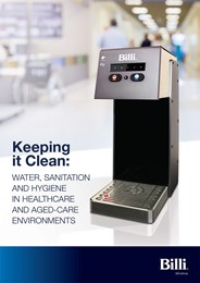Keeping it clean: Water, sanitation and hygiene in healthcare and aged-care environments
