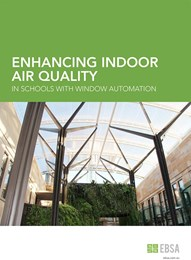 Enhancing indoor air quality in schools with window automation