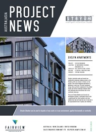 Project News: Stryum used on Evelyn Apartments