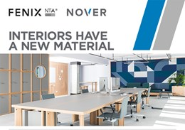 Innovative and high-performance material for interior design applications