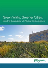 Green walls, greener cities: Boosting sustainability with vertical garden systems