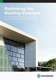 Rethinking the building envelope: Incorporating rigid air barriers as the foundation of modern facade design