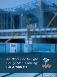 Architectural guide to light gauge steel framing