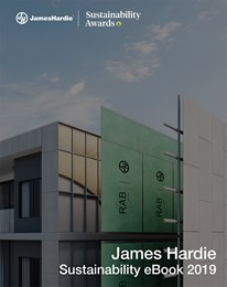 James Hardie Sustainability Awards eBook