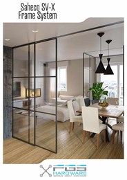 Transform sliding glass doors with concealed frame system