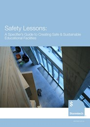 Safety lessons: A specifier's guide to creating safe & sustainable educational facilities