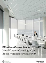 Effortless convenience: How window coverings can boost workplace productivity