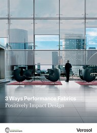 How performance fabrics positively impact design for commercial spaces