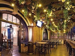 Hanging vines add green touch to Frisco Hotel in NSW