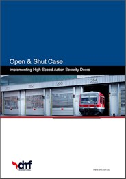 Open & Shut Case for High-Speed Action Doors