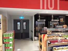 Impact-resistant traffic doors for busy Australian supermarkets