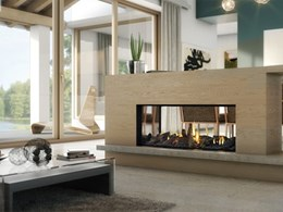 Escea adds new compact gas fireplace to DS Series