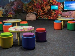 Sea Life Melbourne reduces ocean plastic with EcoSoft carpet tiles