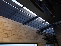 Sustainable Innowood louvres saving time and money