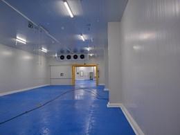 Cool rooms created for new PFD distribution centre with XFLAM insulation panels