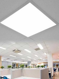 DALI-controlled LED panel lights for offices