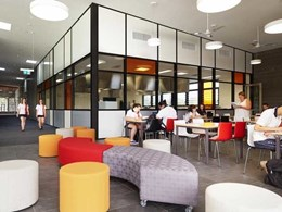 Altair louvre windows providing comfortable learning and teaching spaces at Dalyellup College