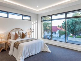 Carinya windows providing light and privacy at new Adelaide home