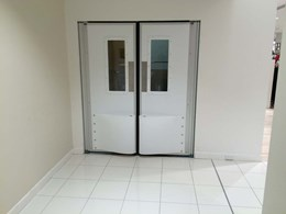 High impact traffic doors installed at David Jones store in Sydney