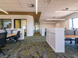 Flooring advances biophilic goals at new Deakin University research building