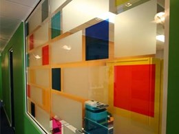 Cost-effective 3M Fasara films create privacy in homes and business offices