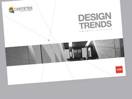 Design Trends book inspires with lightweight building materials showcase