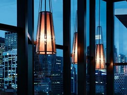 Aglo lighting customised for Heston Blumenthal's Melbourne restaurant