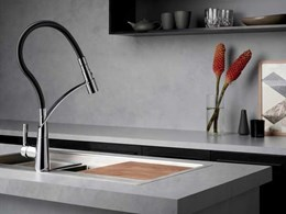 Dorf introduces statement tapware and conversation starters with new Inca sink mixers