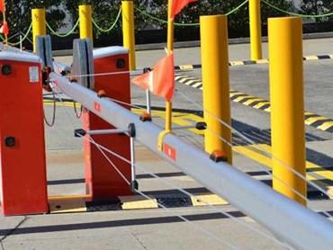 Manual Bollards Boom Gates Installed In Mount Druitt