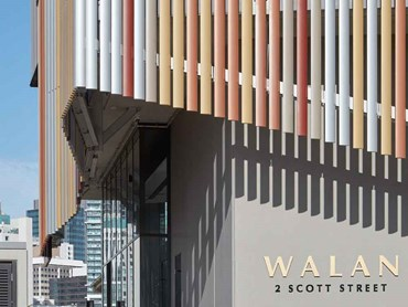 Walan apartment facade Brisbane