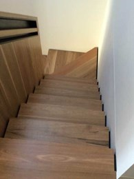 Grip Guard anti-slip sealer addresses revised BCA requirements for internal timber stairs