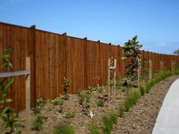 DynaTimber for timber fencing and landscaping