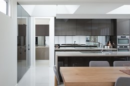 Bring the kitchen to life with Createc high gloss kitchen doors and panels from Polytec