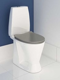Enware's freestanding increased height WC meets compliance for public accessible bathrooms