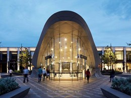 Eastland's Town Square wins global commercial architecture prize