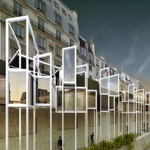 Menomenopiu architects envisions capsule hotel on stilts for Hotel design paris 8