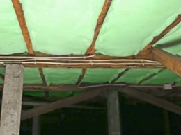 Making insulation fit into extra wide or narrow joists