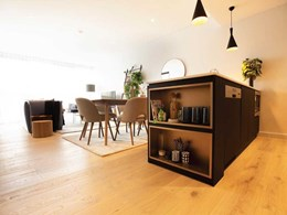 Timber flooring adds premium look and value to new Frasers Property development