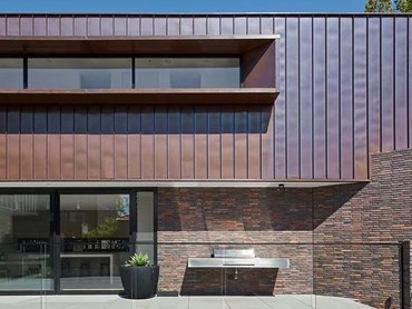 Brick And Copper Fa 231 Ade Creates Striking Palette On Elwood