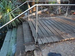 Enduroplank platforms provide relaxing spot for visitors to Bitter Springs NT