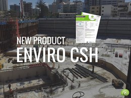 Introducing new concrete surface hardener and moisture barrier: Enviro CSH
